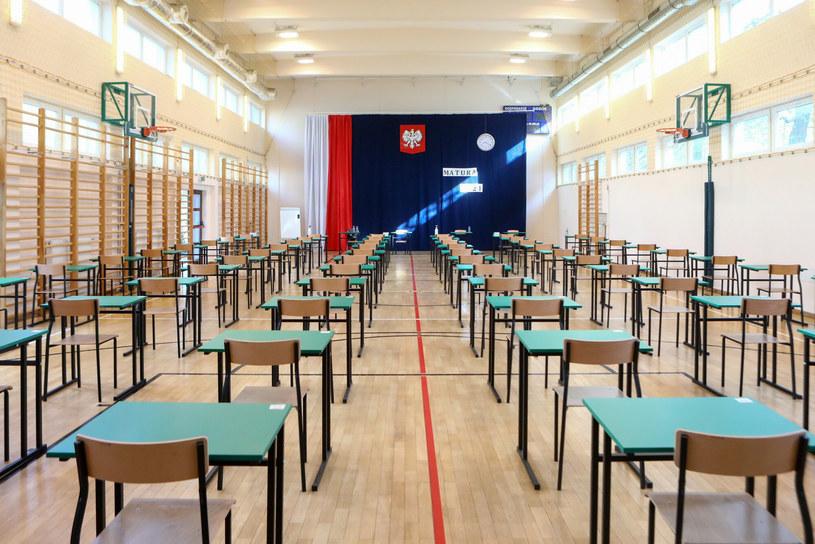 Matura 2021. Egzamin w liceum im. Mikołaja Reja w Warszawie /Tomasz Jastrzębowski /East News