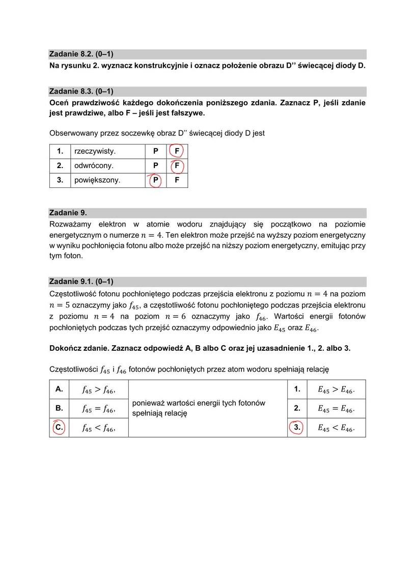 Matura 2021, fizyka na poziomie rozszerzonym /INTERIA.PL