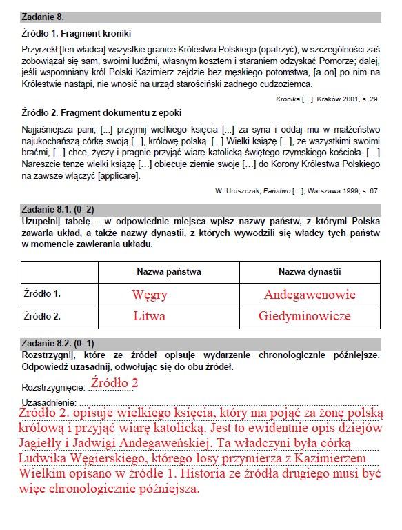 Matura 2021: Historia /INTERIA.PL