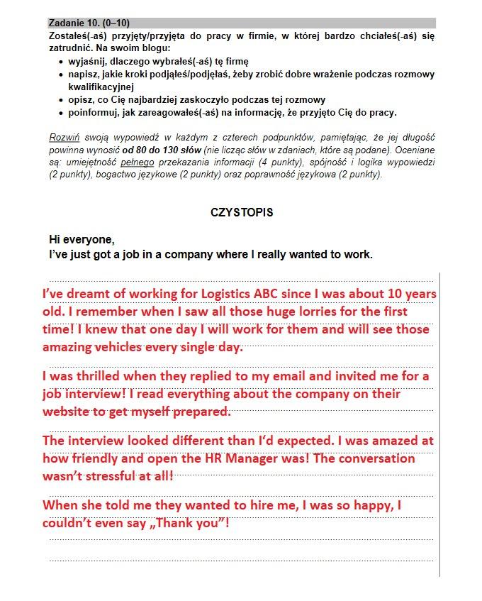 Matura 2021; język angielski - arkusz CKE i odpowiedzi /INTERIA.PL