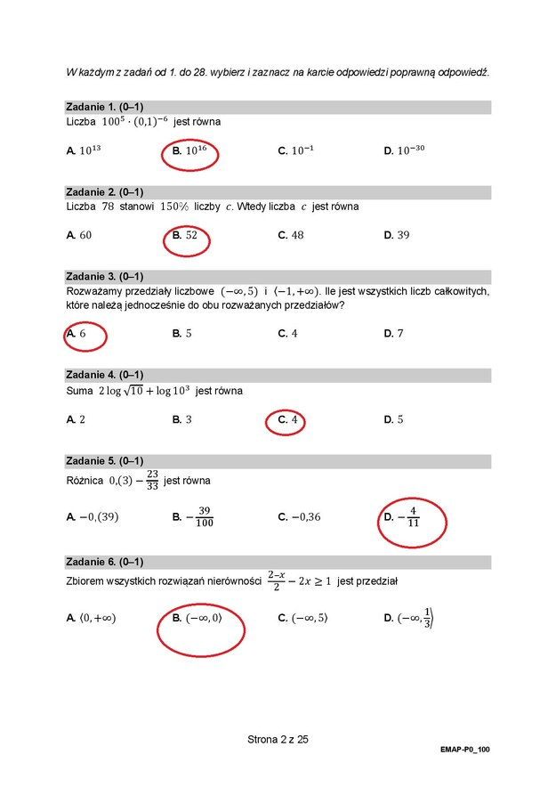 Matura 2021. Matematyka, poziom podstawowy /RMF24