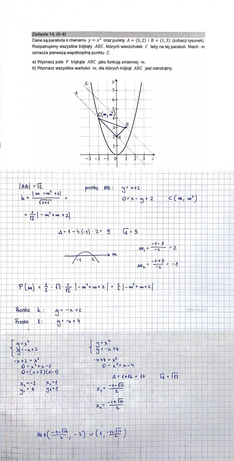 MATURA 2021: Matematyka poziom rozszerzony. Arkusz CKE i rozwiązania /INTERIA.PL