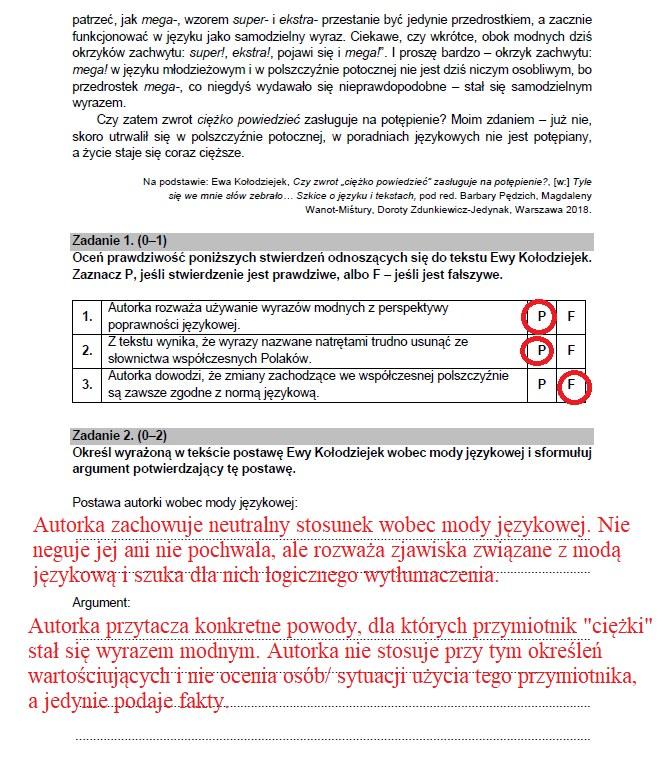 Matura 2021. Odpowiedzi z polskiego /INTERIA.PL