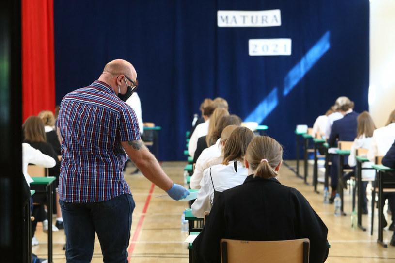 Matura 2021 okiem nauczycieli, którzy pilnowali uczniów /Tomasz Jastrzębowski /Reporter