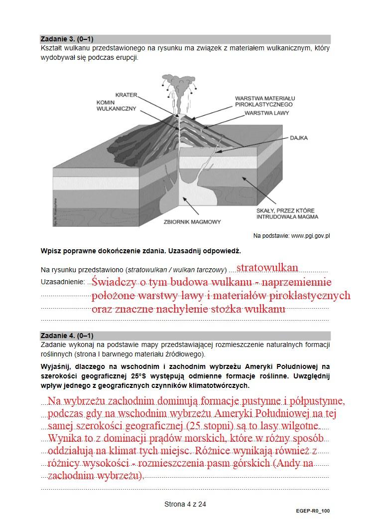 Matura 2021. Proponowane odpowiedzi z geografii /INTERIA.PL