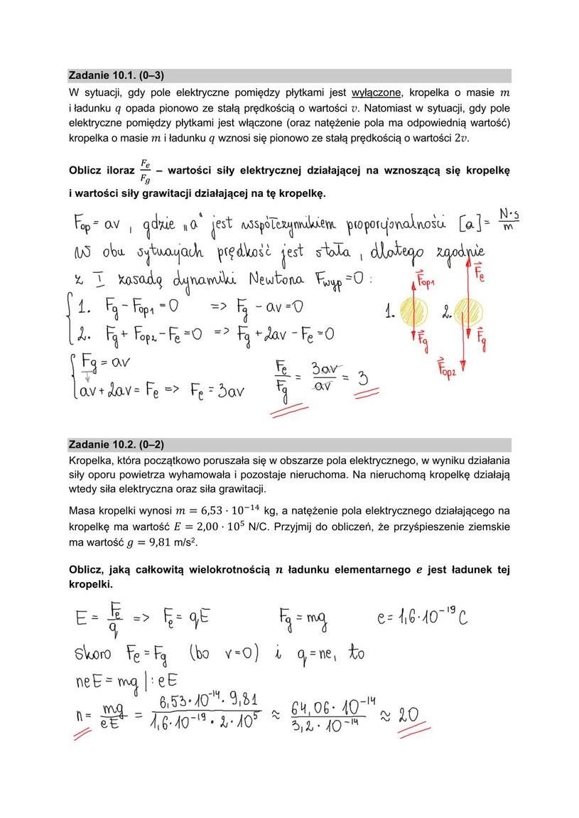 Matura 2021 z fizyki /INTERIA.PL