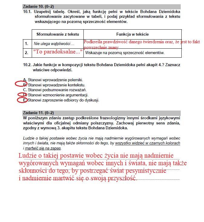 Matura 2021 z języka polskiego /INTERIA.PL