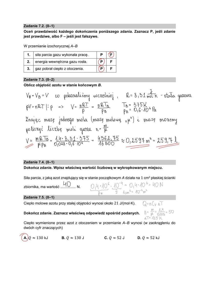 Matura z fizyki, poziom rozszerzony /INTERIA.PL
