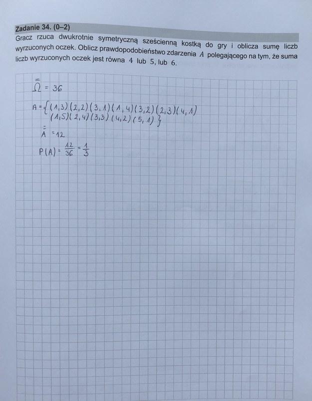 Matura z matematyki. Mamy rozwiązania! /RMF24