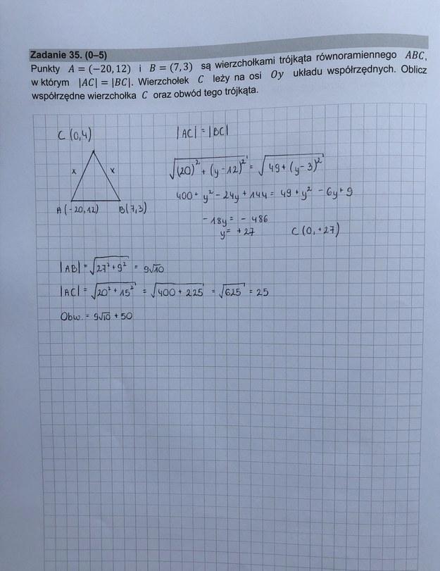 Matura z matematyki. Mamy rozwiązania! /RMF FM