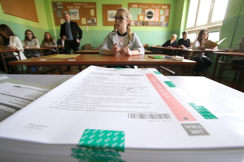 Maturzyści odwołali się do Kolegium Arbitrażu Egzaminacyjnego /FOT. DAWID LUKASIK/POLSKA PRESS /East News