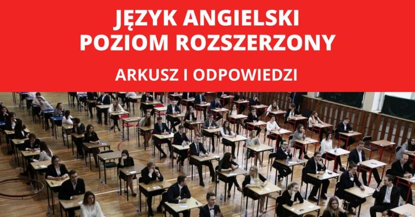 Maturzyści zmierzyli się z egzaminem z języka angielskiego na poziomie rozszerzonym /FOT. GRZEGORZ GALASINSKI/DZIENNIK LODZKI/POLSKA PRESS/Oprac. graf. INTERIA.PL /East News