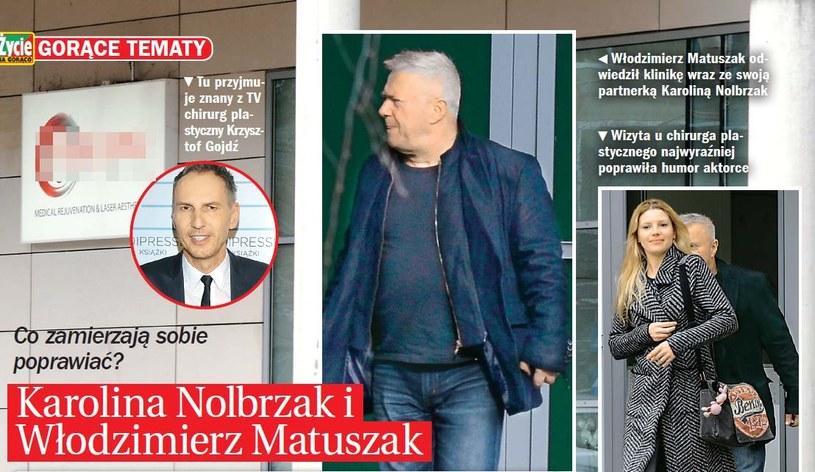 Matuszak i Nolbrzak u Gojdzia /- /Życie na gorąco