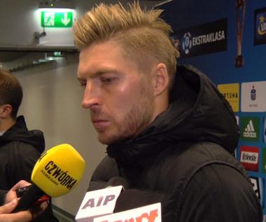 Matuszek (Górnik) po 0-4 z Legią. Wideo