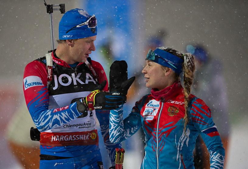 Matwiej Jelisiejew i Jewgienia Pawłowa /Daniel Kopatsch /Getty Images