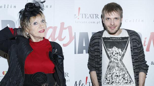 Matylda (Krystyna Sienkiewicz) i Harold (Tomasz Ciachorowski) /AKPA