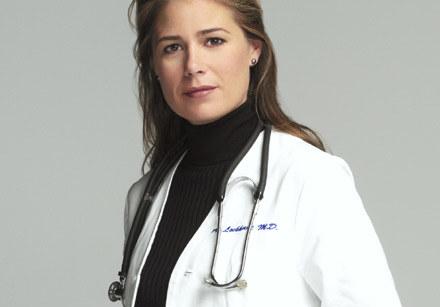 Maura Tierney jako dr Abby Lockhart /Polsat