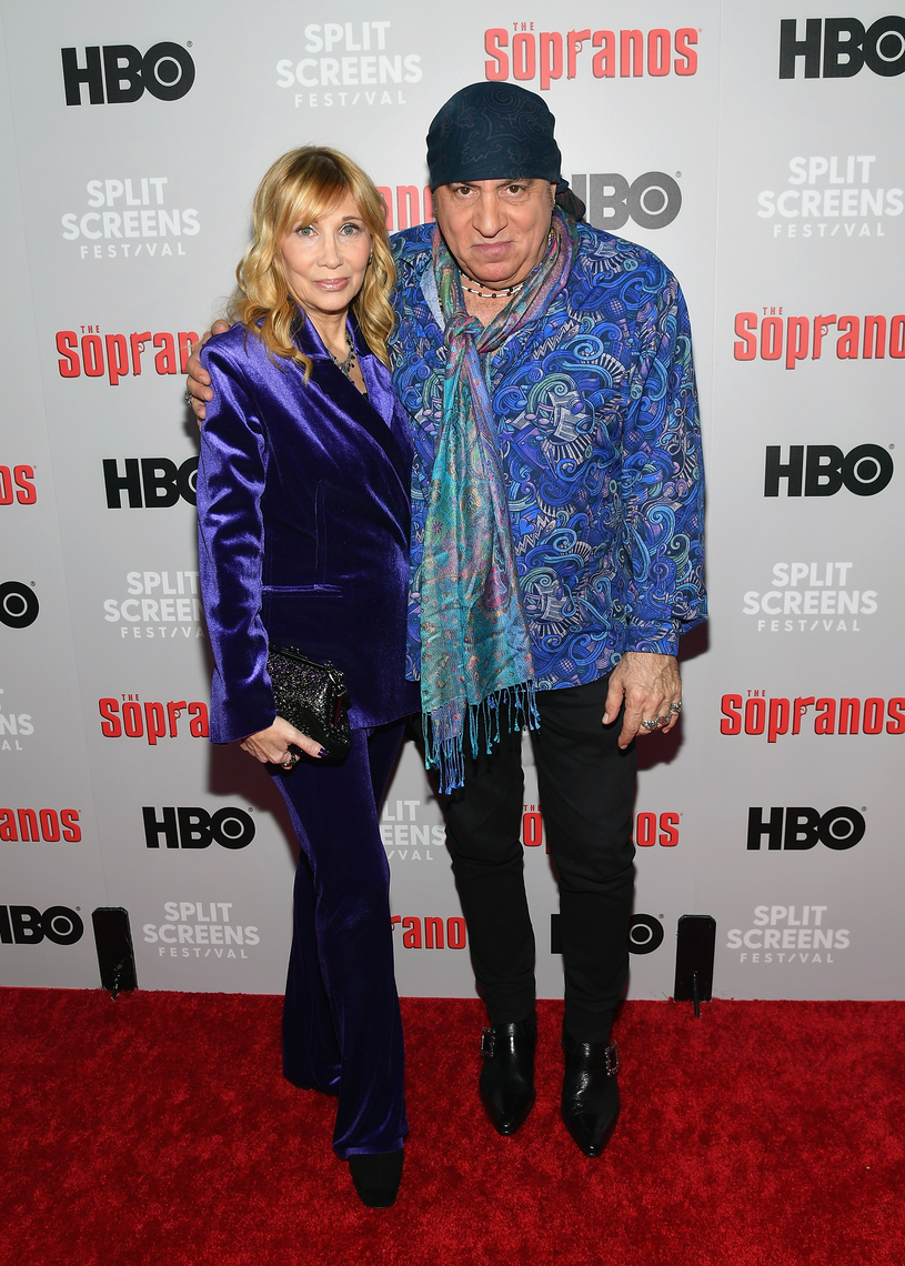 Maureen Van Zandt i Steven Van Zandt, w filmie Gabriella Dante i Silvio Dante /Getty Images