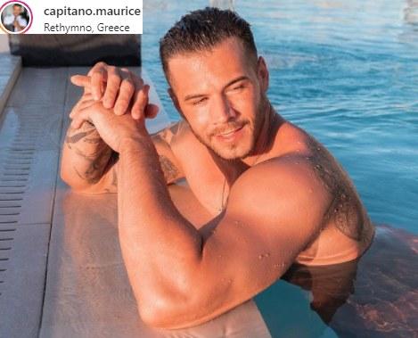Maurice Laaß to najseksowniejszy kapitan świata i ulubieniec tysięcy kobiet /Instagram