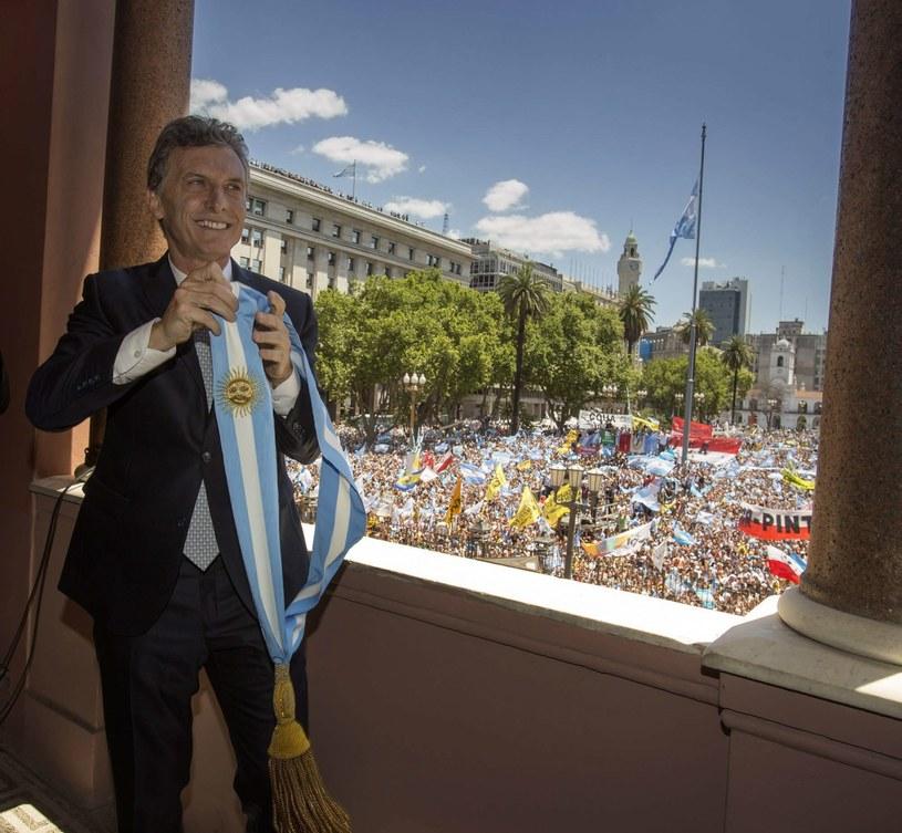 Mauricio Macri, pierwszy od ponad pół wieku prezydent Argentyny niewywodzący się z tradycji peronizmu /PAP/EPA