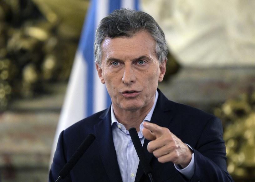 Mauricio Macri /AFP