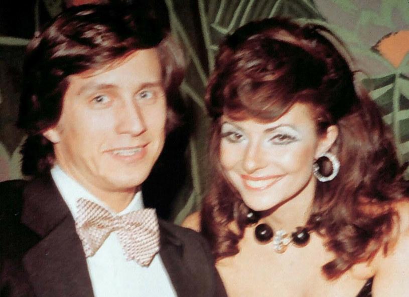 Maurizio i Patrizia Gucci - zdjęcie z roku  1972 /East News