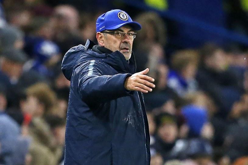 Maurizio Sarri dowodzi Chelsea Londyn /AFP