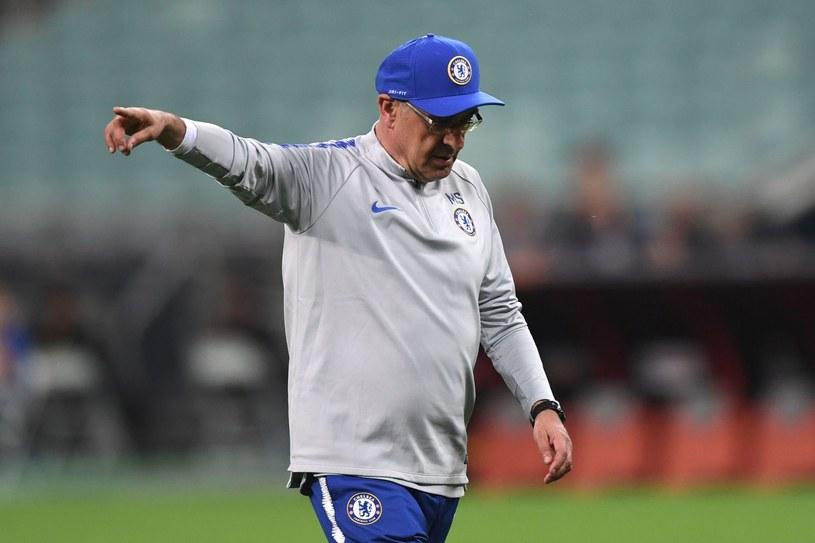 """Maurizio Sarri kończy swoją przygodę z """"The Blues"""" /AFP"""