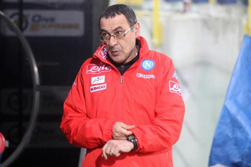Maurizio Sarri /GIORGIO BENVENUTI /PAP/EPA