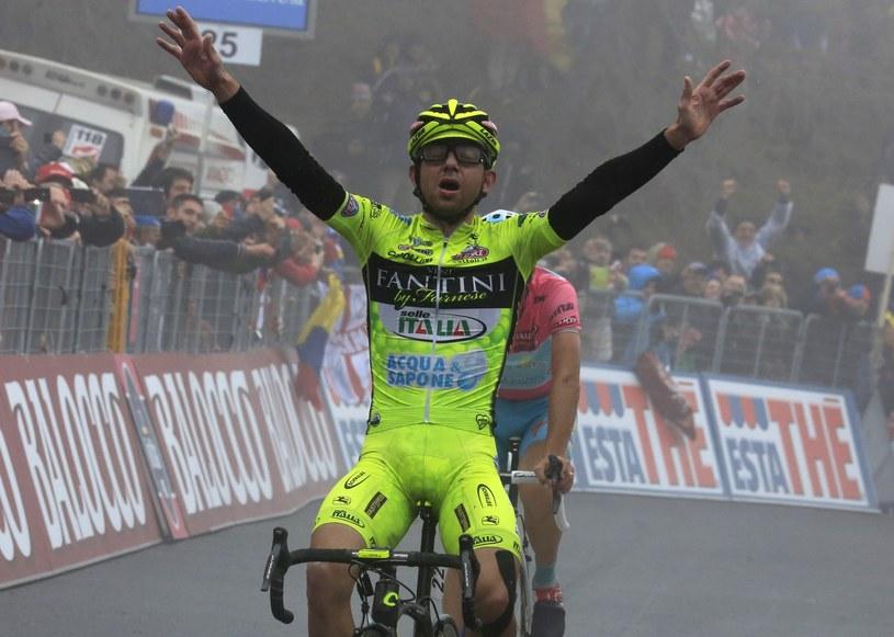 Mauro Santambrogio wygrał jeden z etapów Giro d'Italia 2013 /AFP