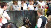 Maurycy i Hawranek, czyli animowane urwisy pojawiły się przed zoo