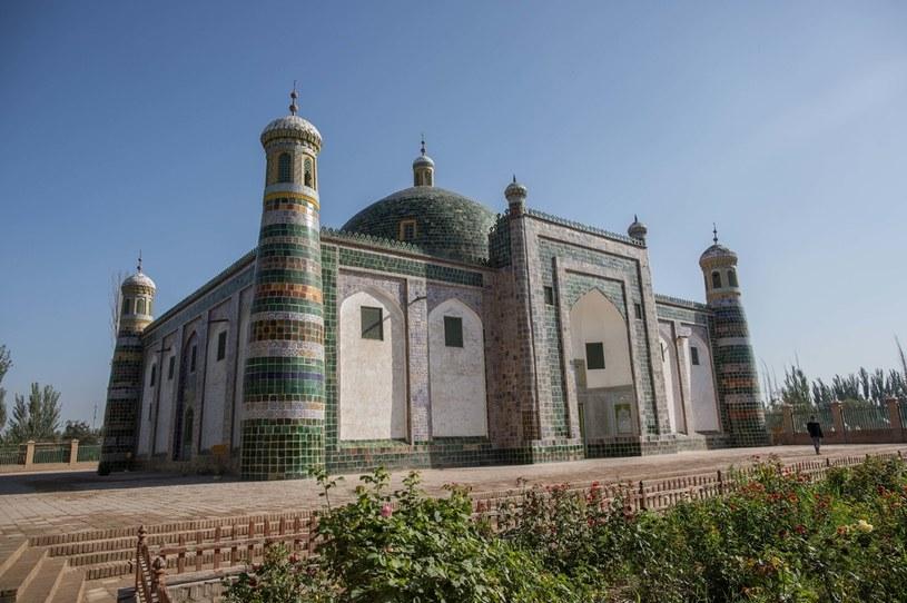 Mauzoleum Afaq Khoja łudząco przypomina indyjski Tadź Mahal /Guillaume Payen/SOPA Images/LightRocket /Getty Images