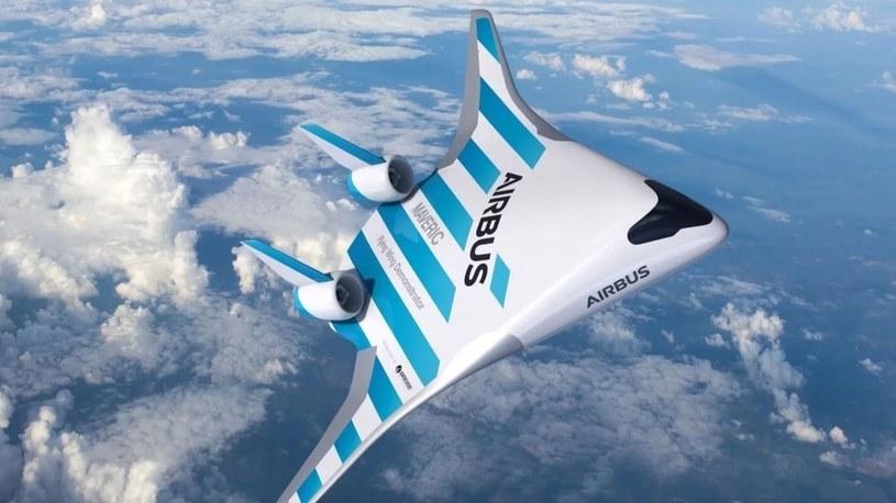 Maveric, futurystyczny samolot od Airbusa, pojawi się na niebie [FILM] /Geekweek