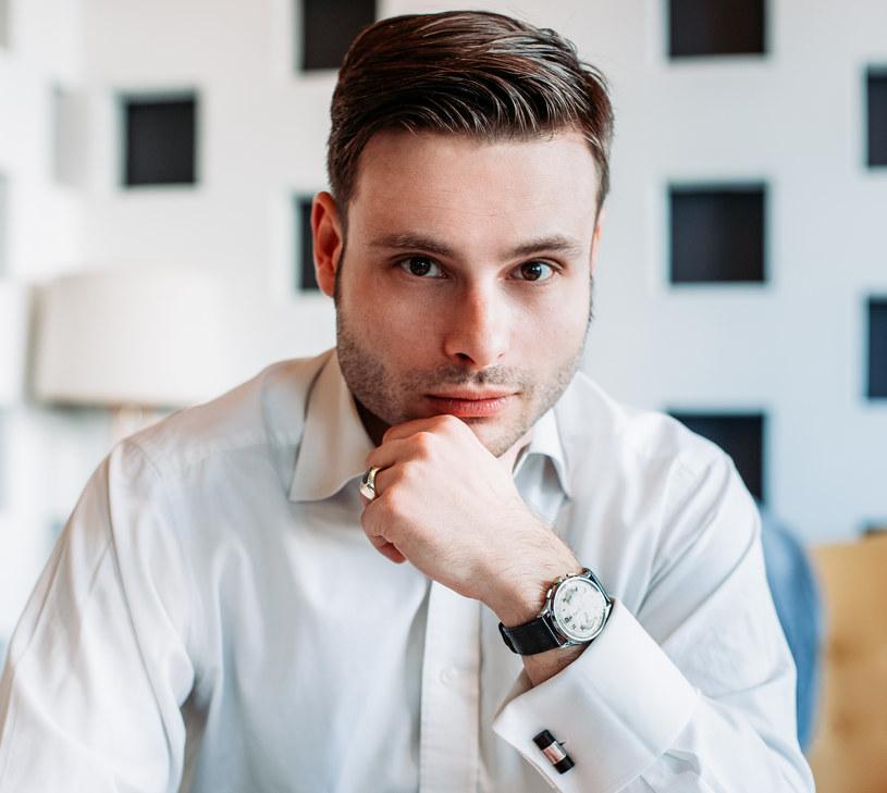 Max Czornyj - adwokat, który został pisarzem, fot. Bartosz Pussak /materiały prasowe