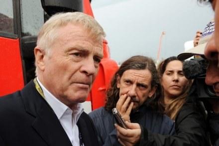 Max Mosley (z lewej) /AFP