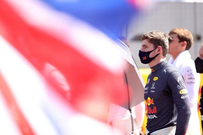 Max Verstappen przed GP Wielkiej Brytanii /Lars Baron /AFP