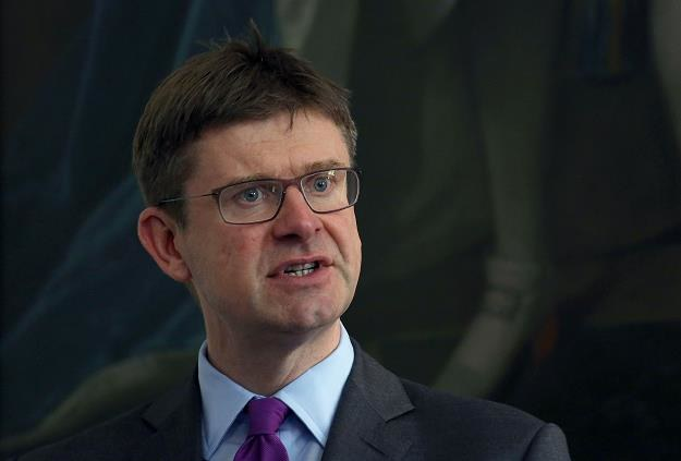 May Greg Clark, minister ds. biznesu W. Brytanii /AFP