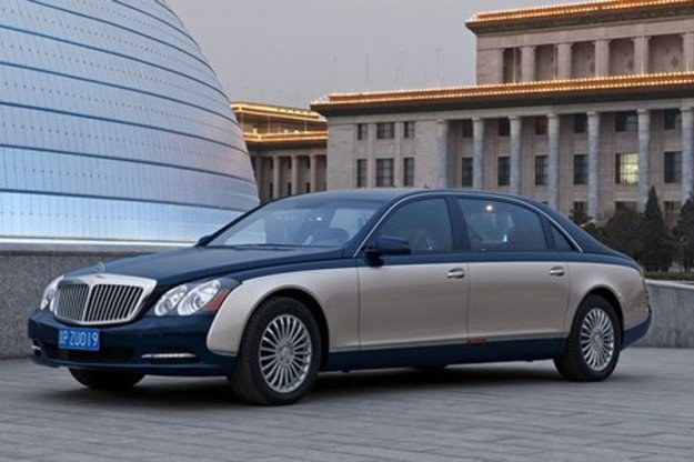 Maybach po liftingu /