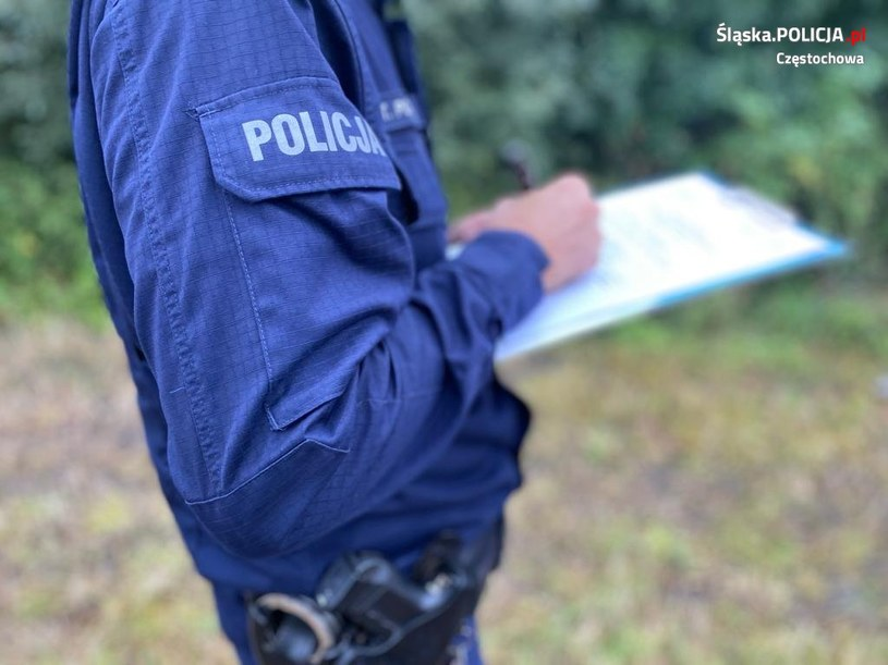 Mąż przyznał się do zabicia 27-letniej żony /Policja Częstochowa /