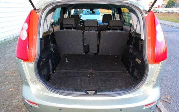mazda 5 bagażnik /Motor