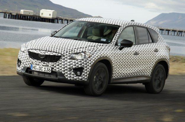 Mazda CX-5 podczas testów /