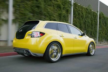 Mazda CX-7 adrenaline / Kliknij /INTERIA.PL