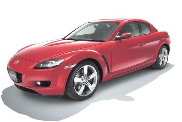 Mazda RX-8 (kliknij) /INTERIA.PL