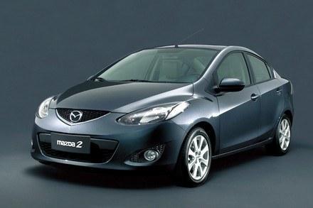 Mazda2 sedan / Kliknij /INTERIA.PL