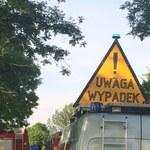 Mazowieckie: Autokar z dziećmi zderzył się z ciężarówką