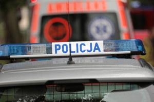 Mazowieckie: Pościg za 66-letnim kierowcą. Padły strzały, ranny został policjant