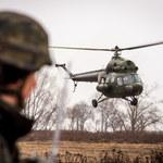 Mazowsze: Awaryjne lądowanie wojskowego śmigłowca