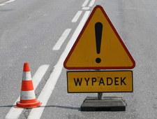 Mazowsze: Groźny wypadek w Starych Grochalach. 4 osoby poszkodowane