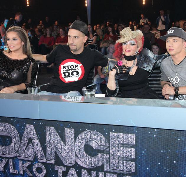"""Mazurówna z innymi jurorami """"Got to Dance. Tylko taniec"""" /Paweł Wrzecion /MWMedia"""
