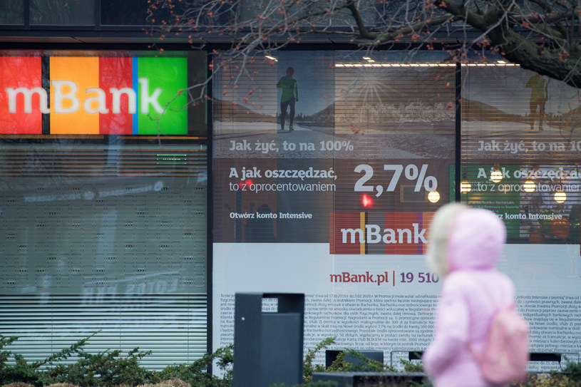 mBank jest bardzo interesującym bankiem... /Wojciech Stróżyk /Reporter